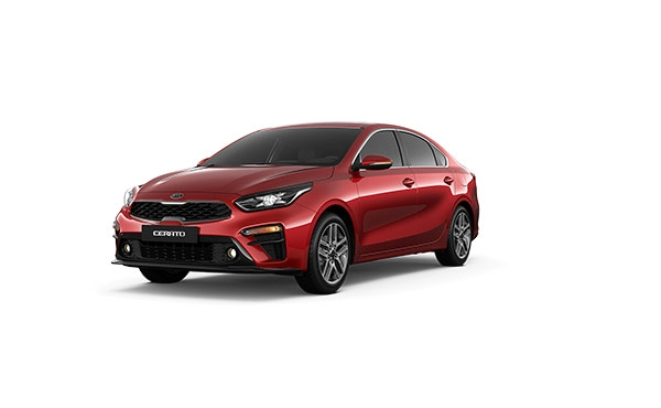Новый KIA Cerato Runway Red (CR5)