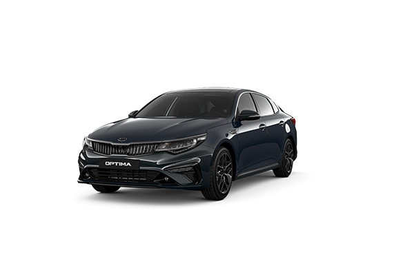 Новая KIA Optima Gravity Blue (B4U)